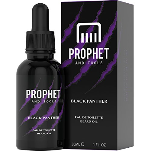 Price comparison product image Prophet and Tools Black Panther Beard Oil - Sexy Dark Fragrant - The All-In-One Softener, Shine, Growth and Keeps Hairs Clean - Vegan and Nuts-Free!