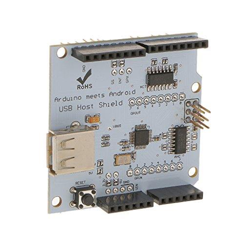 USB Host Shield 2 0 Module for Android Phone ADK & Arduino UNO MEGA  Duemilanove 2560 1280