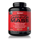 MuscleMeds Carnivor Mass Diet Supplement, Vanilla Caramel, 5.6 Pound