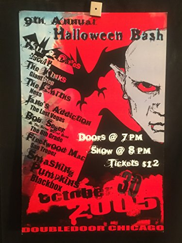 Local H Chicago October 30, 2005 Halloween Concert Poster, Double Door, Signed/Numbered, Herrera -