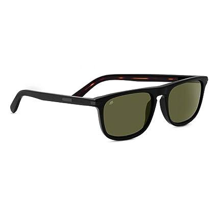 Amazon.com: anteojos de sol SERENGETI Leonardo, negro ...