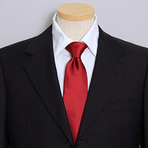 Plain Ozie Tie, Sette Piega Made in Japan,Red