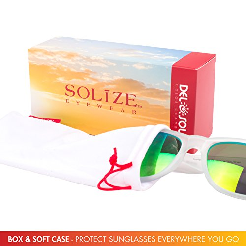 a6ac13ab25ed Solize Color-Changing Polarized Sunglass by Del Sol - Numerous Colors and  Styles Available