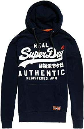 sweat-shirt bleu superdry
