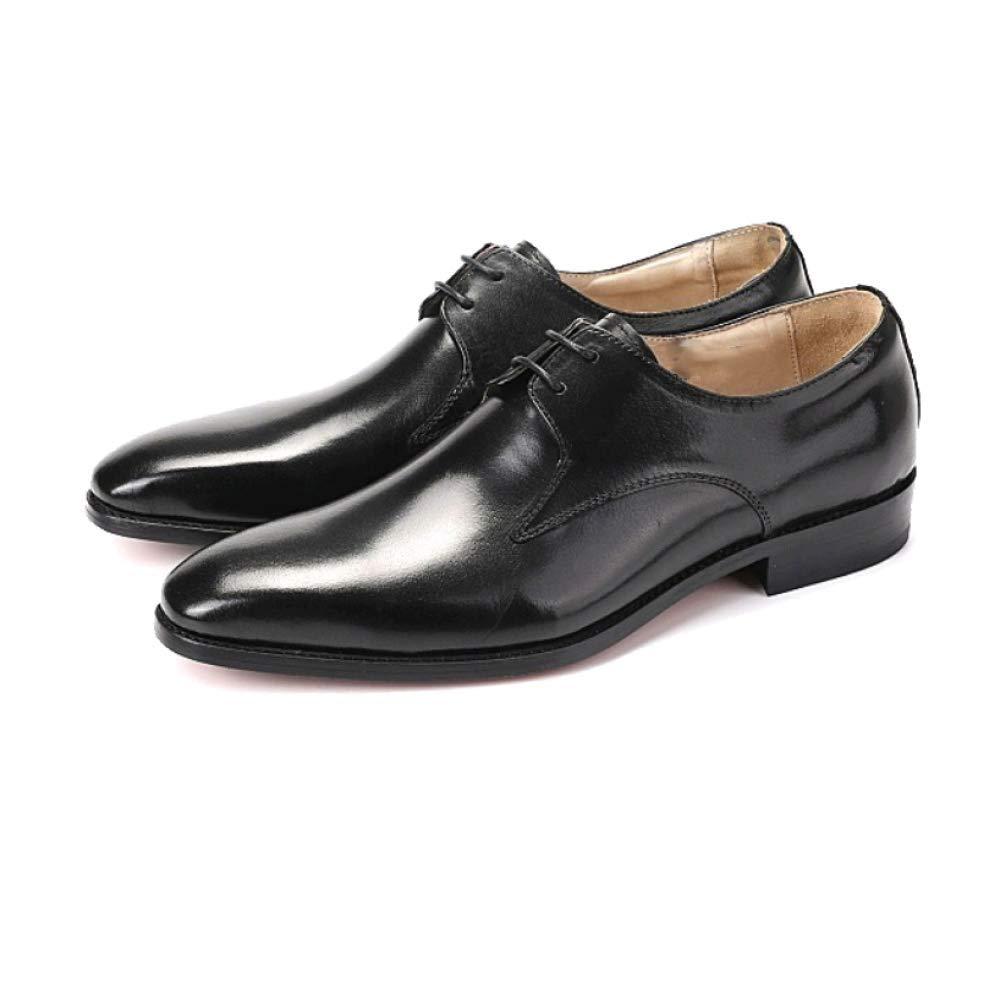 ZQZQ Business, Spitz, Britisch, Rutschfest Stilvoll, Tragbar, Rutschfest Britisch, schwarz 74c99f