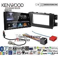 Volunteer Audio Kenwood DDX9704S Double Din Radio Install Kit with Apple Carplay Android Auto Fits 2009-2011 Kia Borrego