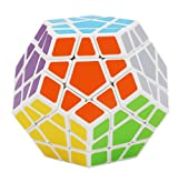 Xben 3x3 Megaminx Speed Cube Dodecahedron-shaped Puzzle Toys with 12 Color ...
