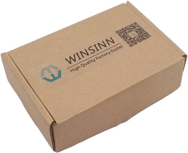 Winsinn 5015/12/V 24/V DC Ventilateur /à roulement /à Billes 50/mm 50/x 50/x 15/mm pour DIY imprimante 3D extrudeuse Hotend V6/V5/MakerBot MK7/MK8/CPU Arduino 5010 12V Dual Ball Bearing