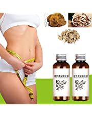 2Pcs Bellyoff Herbal Slimming Massage Oil, Belly Button Slimming Essence,Essential Organic Lymphatic Drainage Oil,for Quick Absorption and Penetration Stay Perfect Shape
