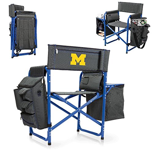 NCAA Michigan Wolverines Portable Fusion Chair by PICNIC TIME