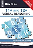 img - for Anthem How To Do 11+ and 12+ Verbal Reasoning: Technique and Practice (Anthem Learning Verbal Reasoning) book / textbook / text book