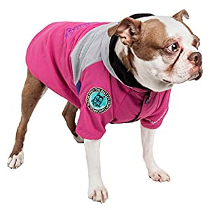 TOUCHDOG 'Mount Pinnacle' Waterproof and Windproof Fashion Designer Insulated Pet Dog Coat Ski Jacket Hooded Raincoat… Click on image for further info.