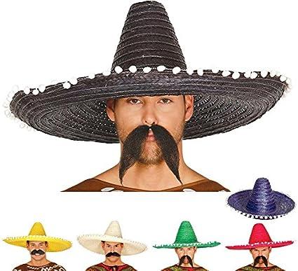 Guirca 13655 - Sombrero Mexicano Paja 60 Cms. Paja  Amazon.es ... b80ef8eed41