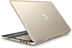 "Premium HP Pavilion Business Flagship High Performance Laptop PC 15.6"" Display Intel i7-6500U Processor 8GB RAM 1TB HDD Webcam 802.11AC WIFI Bluetooth DVD B&O Audio Windows 10-Modern Gold"