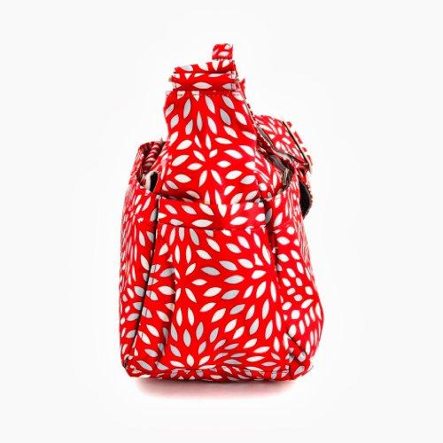 Ju-Ju-Be Sé Hobo - Bolsa para pañales Multicolor (Scarlet Petals)