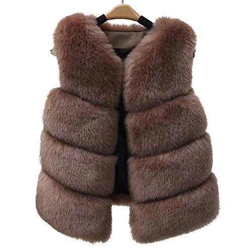 de las sin color Akaufeng mangas de caqui Abrigo mujeres nFXz1qBOOx