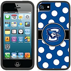 Coveroo CandyShell Card Cell Phone Case for iPhone 5/5S - Creighton Polka Dot
