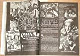 Outre 12 BETTIE PAGE Dr. Demento CHESLEY BONESTELL Mary Hartline CRAZY CATS Vincent Di Fate FILMFAX 1998 (Outre Magazine: The World of UltraMedia)