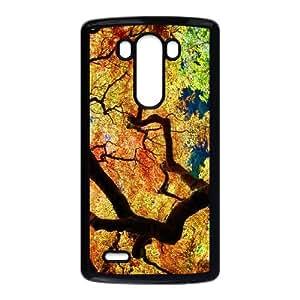 Maple Tree Branch LG G3 Cell Phone Case Black bjnf