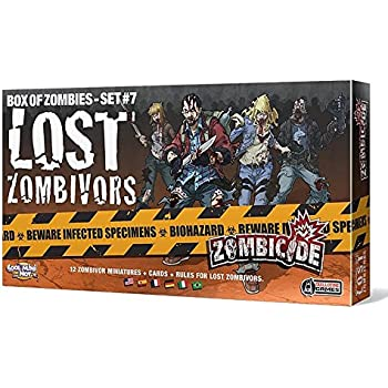 Amazon.com: Zombicide Box of Zombies 1 Ultimate Survivors ...