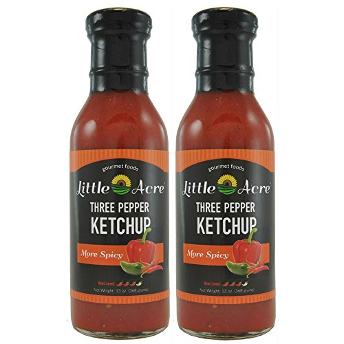 Three Pepper Ketchup (More Spicy) made in New England