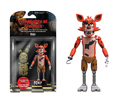 """Funko Five Nights at Freddy's Articulated Foxy Action Figure, 5"""""""