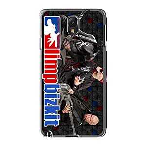 JonBradica Samsung Galaxy Note3 Shockproof Cell-phone Hard Cover Provide Private Custom Colorful Limp Bizkit Band Skin [lDf11683chVx]
