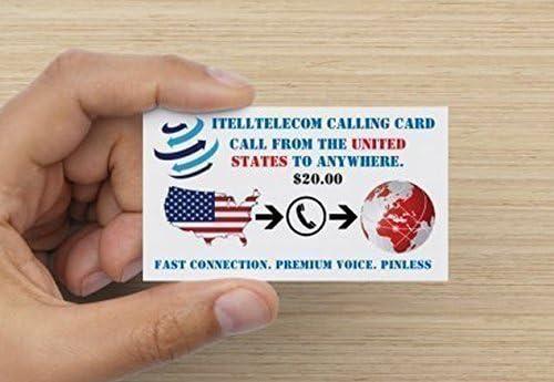 Amazon.com: $20 Tarjeta de llamadas internacionales: Office ...