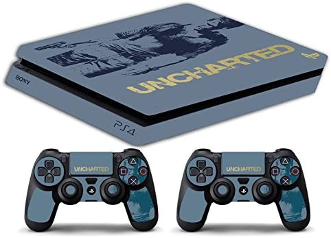 Skin PS4 SLIM HD - UNCHARTED BUNDLE - limited edition DECAL COVER ...