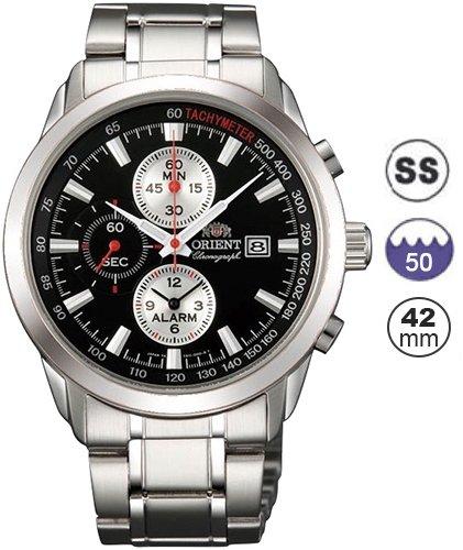Orient Reloj Análogo clásico para Hombre de Cuarzo con Correa en Acero Inoxidable FTD11001B0