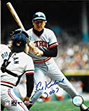 Al Kaline Detroit Tigers Autographed Signed 8 x 10 Photo -- COA - (Near Mint Condition)