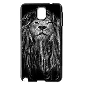 JJZU(R) Design Customized Cover Case with Lion for Samsung Galaxy Note 3 N9000 - JJZU896990