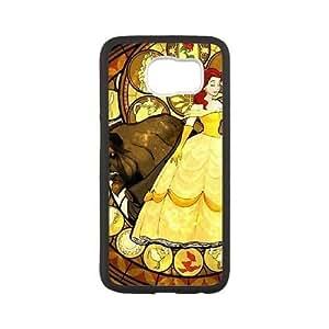 samsung galaxy s6 case,samsung galaxy s6 Cell phone case Black Disneys Beauty and the Beast-PUU4925893