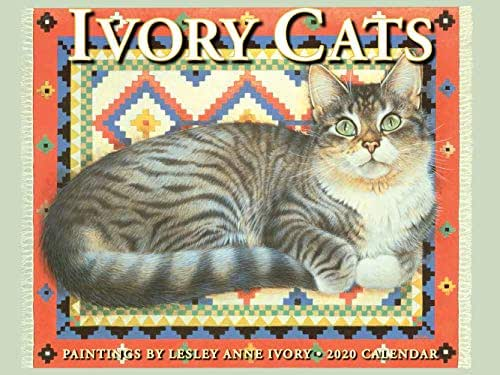 Ivory Cats 2020 Calendar