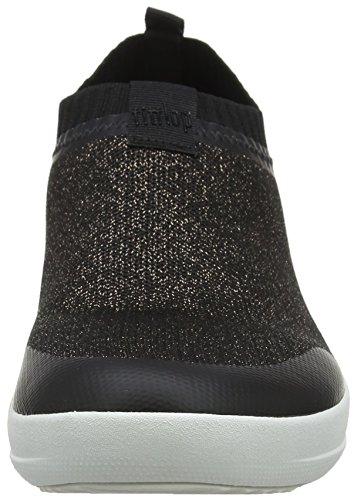 Bronze Sneaker Sneakers Collo Metallic Alto Multicolour 501 Slip Donna Fitflop Metallic a on Black Uberknit wXtxW74gqf