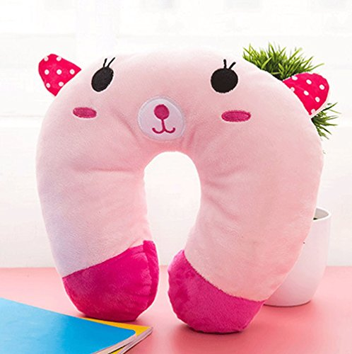 Anime-Cute-Cartoon-Doll-Plush-Toy-Neck-Pillow-U-Shape-Pillow