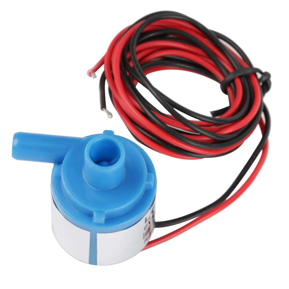 DC 6v Micro Submersible Pumping Food Grade Water Air Pump Brushless Oilless Motor Pump Low Noise Flow 1.5l/min