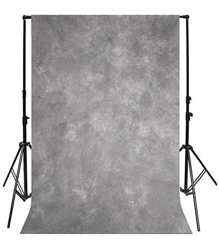 Yeele 5x7ft Vintage Gray Photography Backdrops Solid Fuzzy Gradient Pastel Chic Colours Design Photo Background Photobooth Adult Baby Party Photo Video Shoot Studio Props Drop Vinyl Wallpaper (Contact Grey Paper Purple)