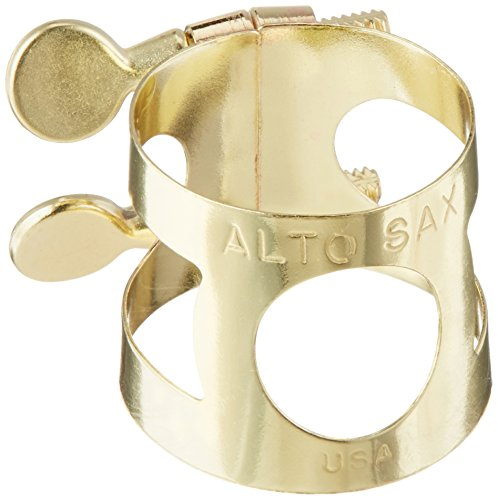 Yamaha YAC 1607 Lacquered Brass Alto Saxophone Ligature for sale  Delivered anywhere in USA