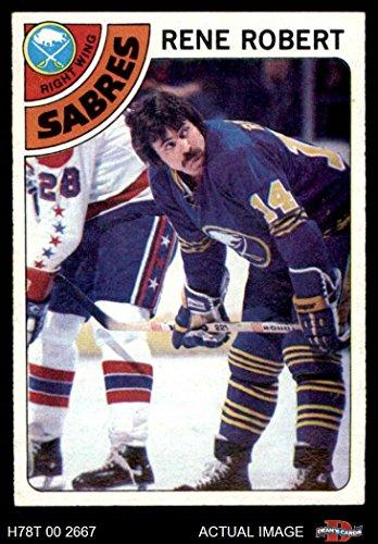 Mt Buffalo (1978 Topps # 188 Rene Robert Buffalo Sabres (Hockey Card) Dean's Cards 6 - EX/MT Sabres)