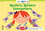 Spiders, Spiders Everywhere!, Rozanne Lanczak Williams, 0916119955