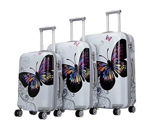 TERMINAL Luggage 3 PCS Suitcase Set 20''+24