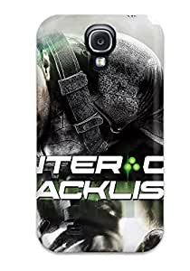 For Galaxy Case, High Quality Tom Clancy's Splinter Cell Blacklist Game For Galaxy S4 Cover Cases