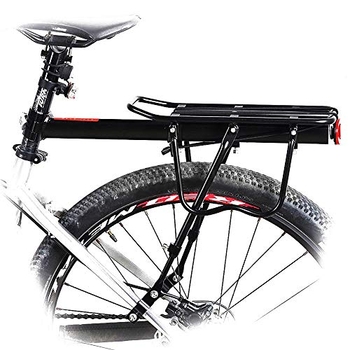 Wall of Dragon Bike Rack 50kg capaciblity Bicycle Quick Release Luggage Cargo Seat Post Pannier Carrier Rear Rack Fender Bicycle Accessories by Wall of Dragon (Image #6)