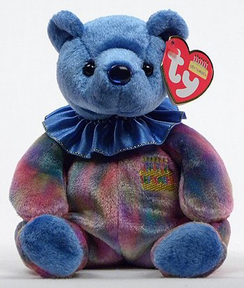 9023596f84b Amazon.com  1 X Ty Beanie Babies - September the Birthday Bear  Toys   Games