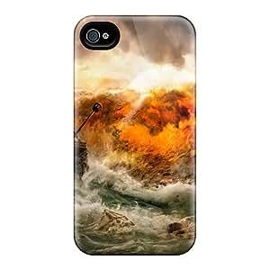 Excellent Design Shipwrecked Phone Case For Iphone 4/4s Premium Tpu Case