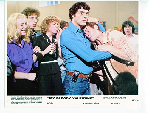 (MOVIE PHOTO: My Bloody Valentine-Rob Stein-Neil Affleck-8x10-Color-Still-Thriller)