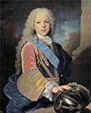 Reproductions Paints on Canvas Without Stretch and Without Frame ,Ranc Jean Fernando de Borbon y Saboya principe de Asturias (futuro Fernando VI de Espana) 1725 , is for Home Decoration, or Wall Art Decoration, Home Decor. There are fiber can...