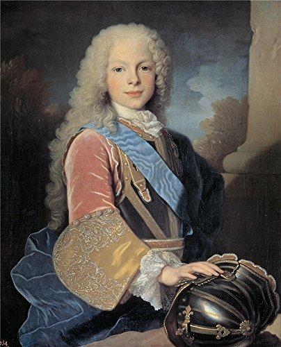 (Oil Painting 'Ranc Jean Fernando De Borbon Y Saboya Principe De Asturias (futuro Fernando VI De Espana) 1725' 10 x 12 inch / 25 x 31 cm , on High Definition HD canvas prints, Foyer, Game Room, decor)