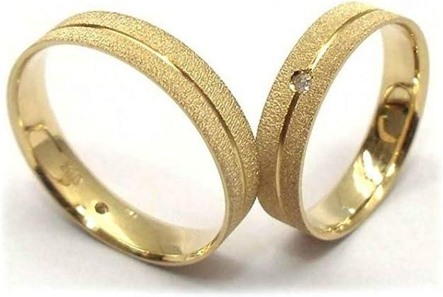 Par Alianças De Casamento E Noivado Ouro 18k